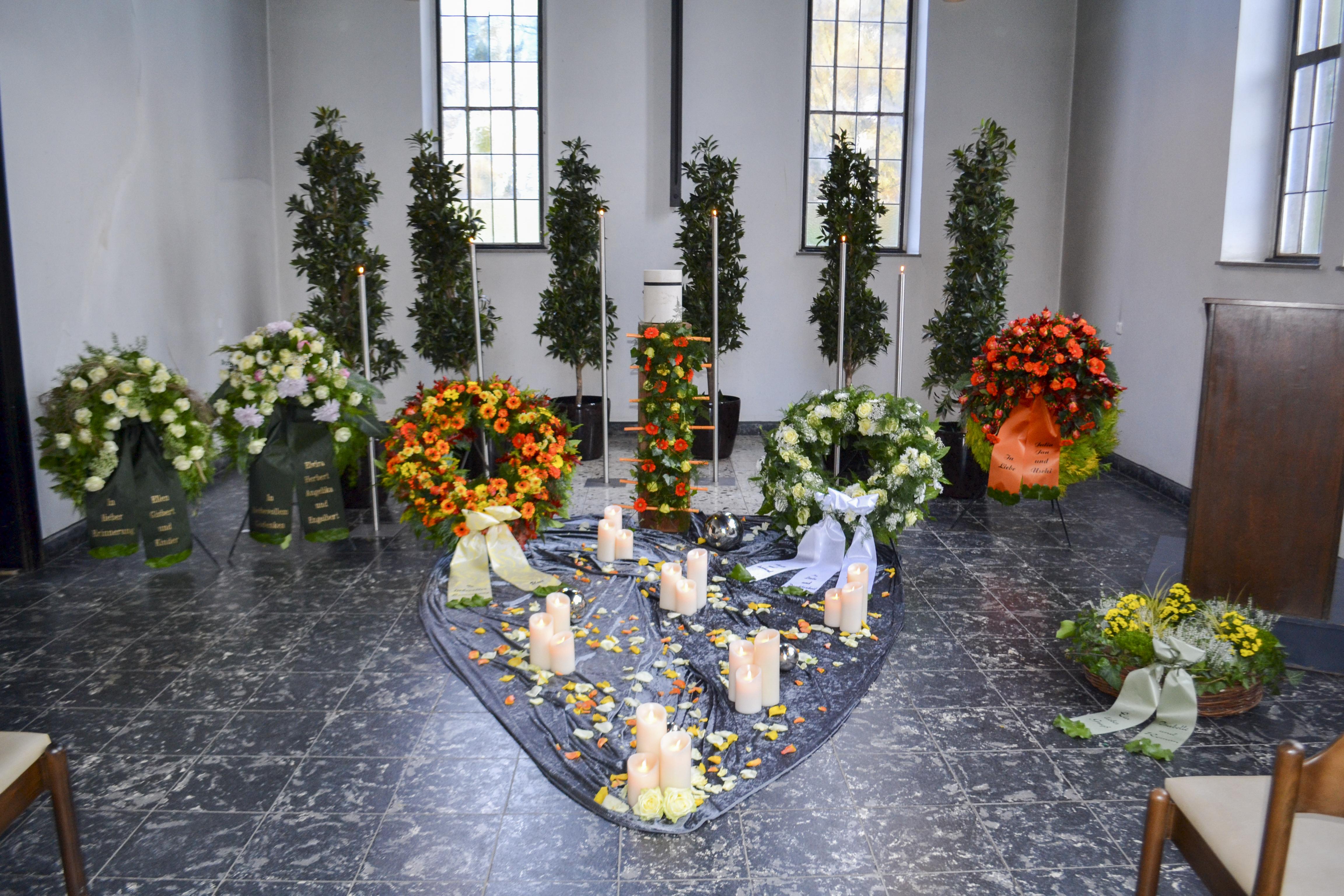Floristik Dekoration Lueg Bestattungen Bochum