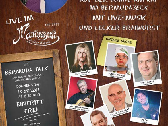 Kultursponsoring: Bermuda Talk Open Air
